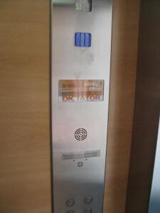 Sistemas de seguridad en ascensores unifamiliares de Dictator