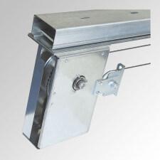 Accionamientos semiautomáticos para puertas correderas cortafuegos