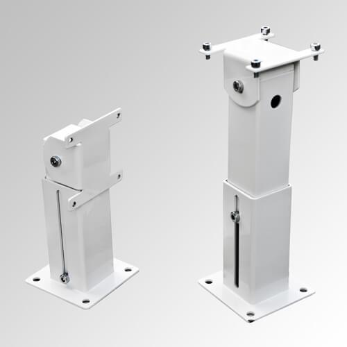 Distanciador para electroimanes de retención