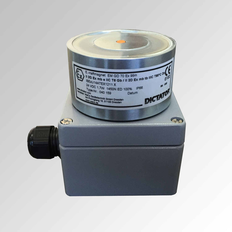 Electroimán de retención antideflagrante EX