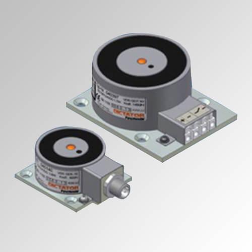 Electroimán de retención con contacto de estado (ejecución ST/RM)