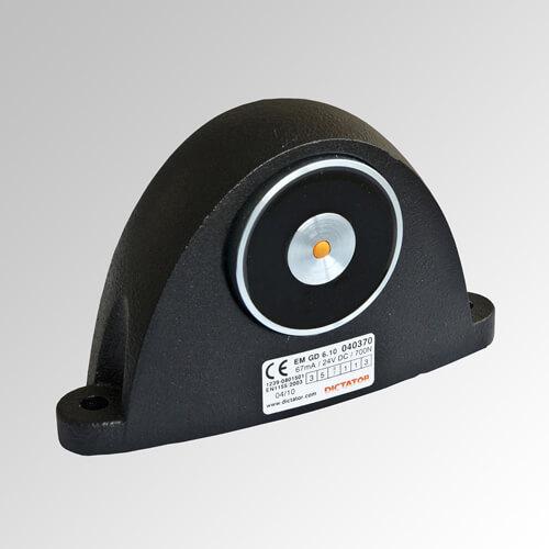 Electroimán de retención para el montaje en el suelo