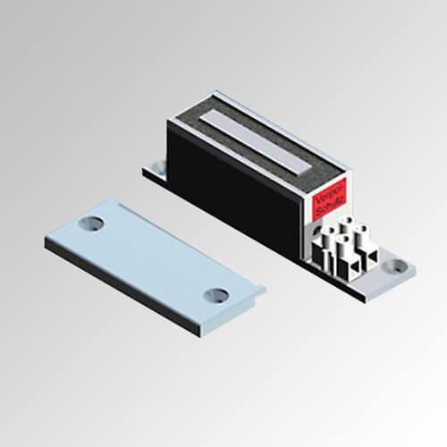 Electroimán de retención rectangular reducido