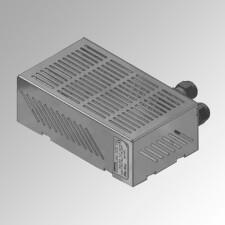 Fuente de alimentación para sistema de control de puertas con función de esclusa