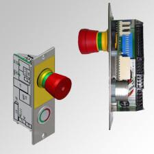 Sistema de control de puertas con función de esclusa