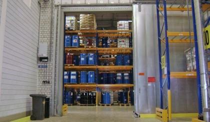 Automatización de puertas correderas cortafuego en áreas con riesgo de explosión