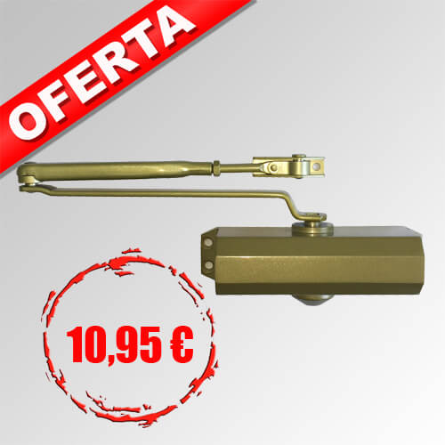 Cierrapuertas TS-10 dorado