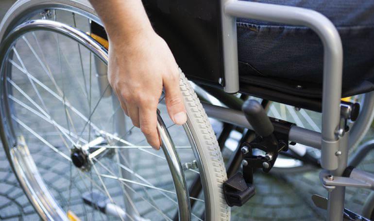 Silla ruedas discapacitados